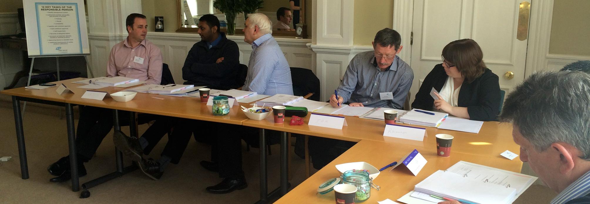 PMN Consulting Training delegates