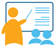 Training info graphic image